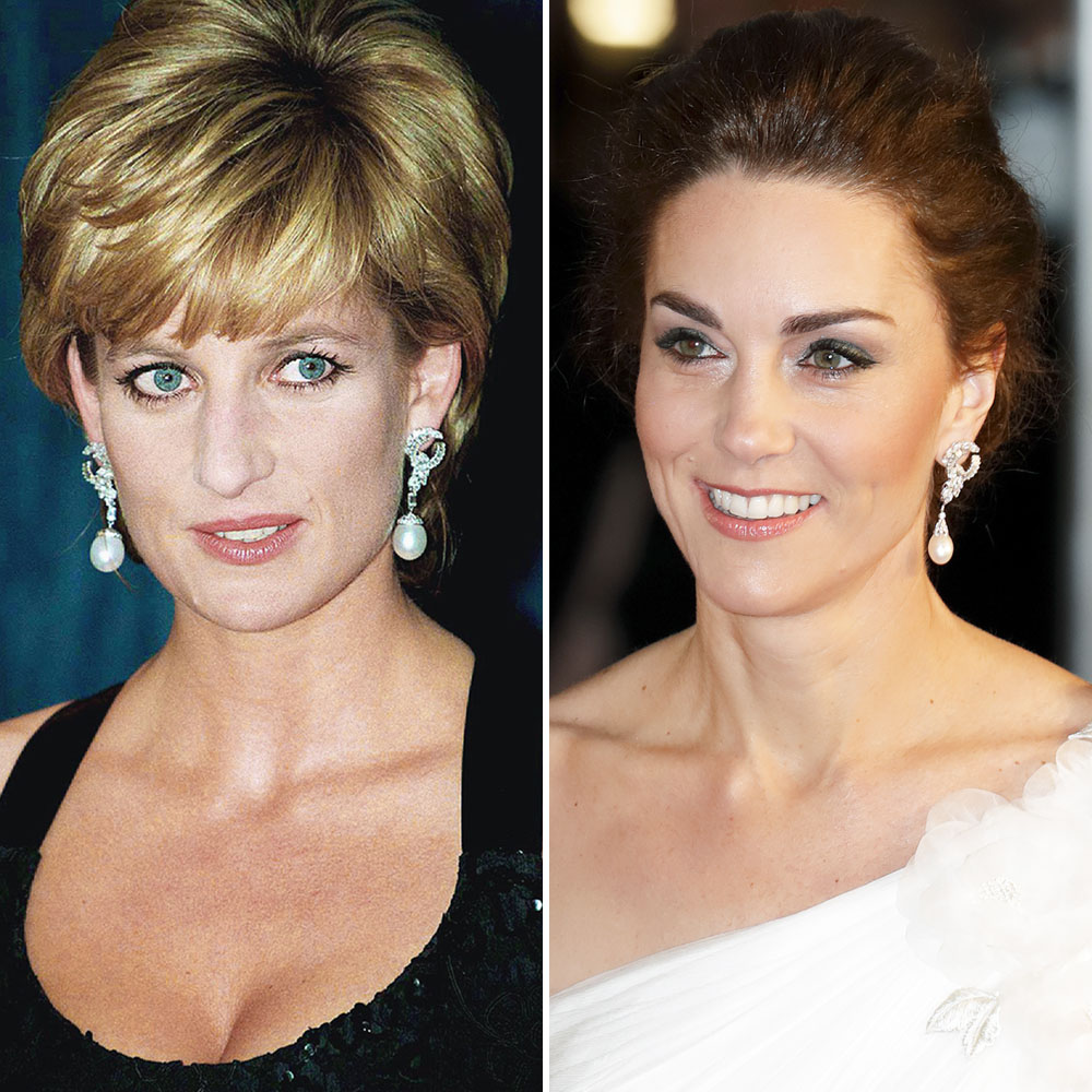 Kate Middleton Princess Diana Earrings