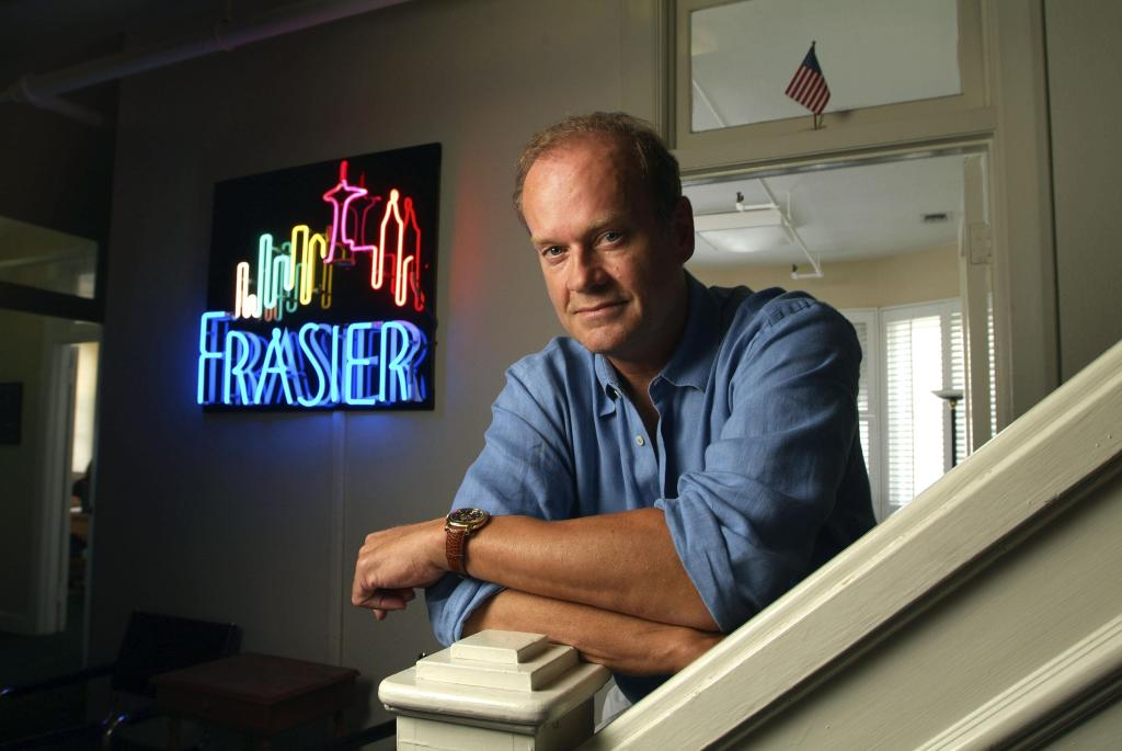 Kelsey Grammar, famous for his role as Frasier photographed
