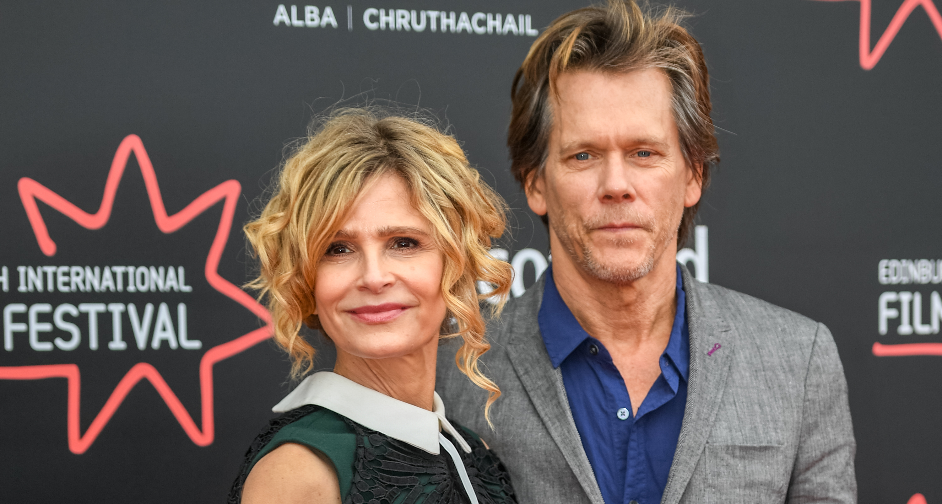 Kevin Bacon Sweetly (and Secretly!) Performs a Love Song for Wife Kyra Sedgwick on Valentine's Day — Watch!