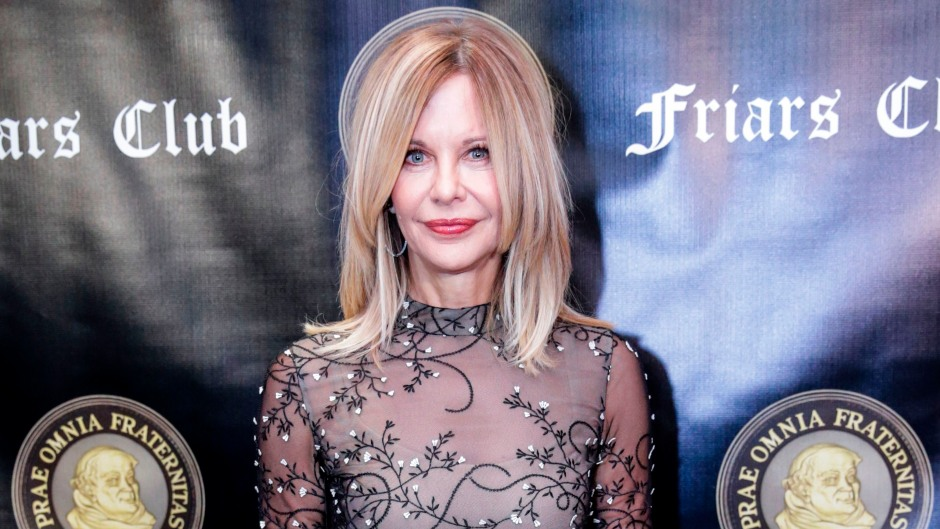 Actress Meg Ryan attends the Friars Club Entertainment Icon Award ceremony