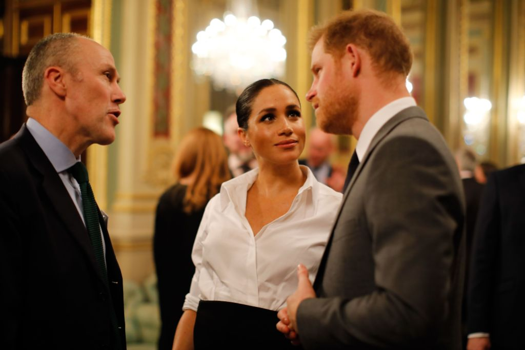 Prince Harry and Meghan Markle attend the Endeavour Fund awards at Drapers' Hall