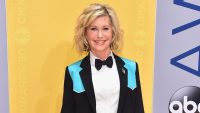 Singer Olivia Newton-John attends the 50th annual CMA Awards