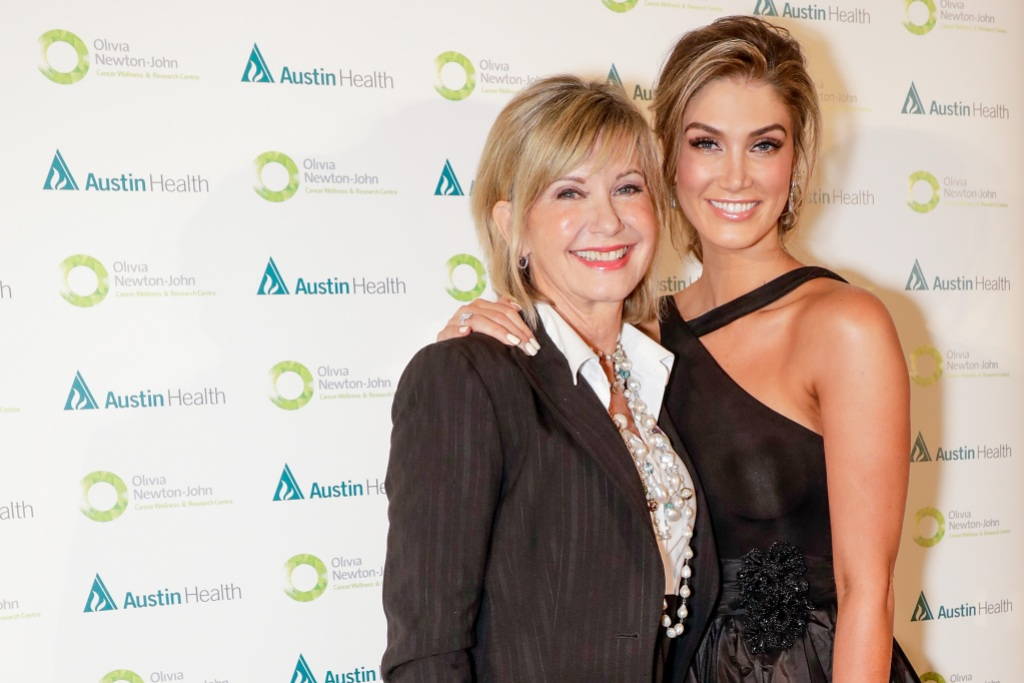 Olivia Newton John and Delta Goodrem