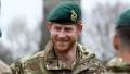Prince Harry, Duke of Sussex, Captain General Royal Marines visits 42 Commando Royal Marines at their base in Bickleigh to carry out a Green Beret presentation at Dartmoor National Park