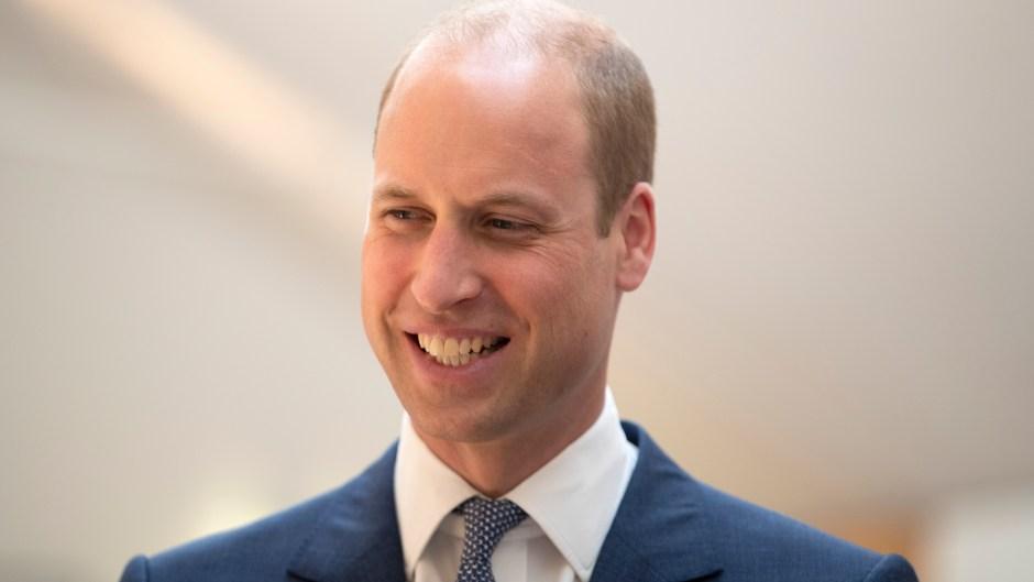 The Duke Of Cambridge Visits Edinburgh