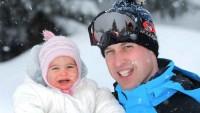princess-charlotte-prince-william-snow