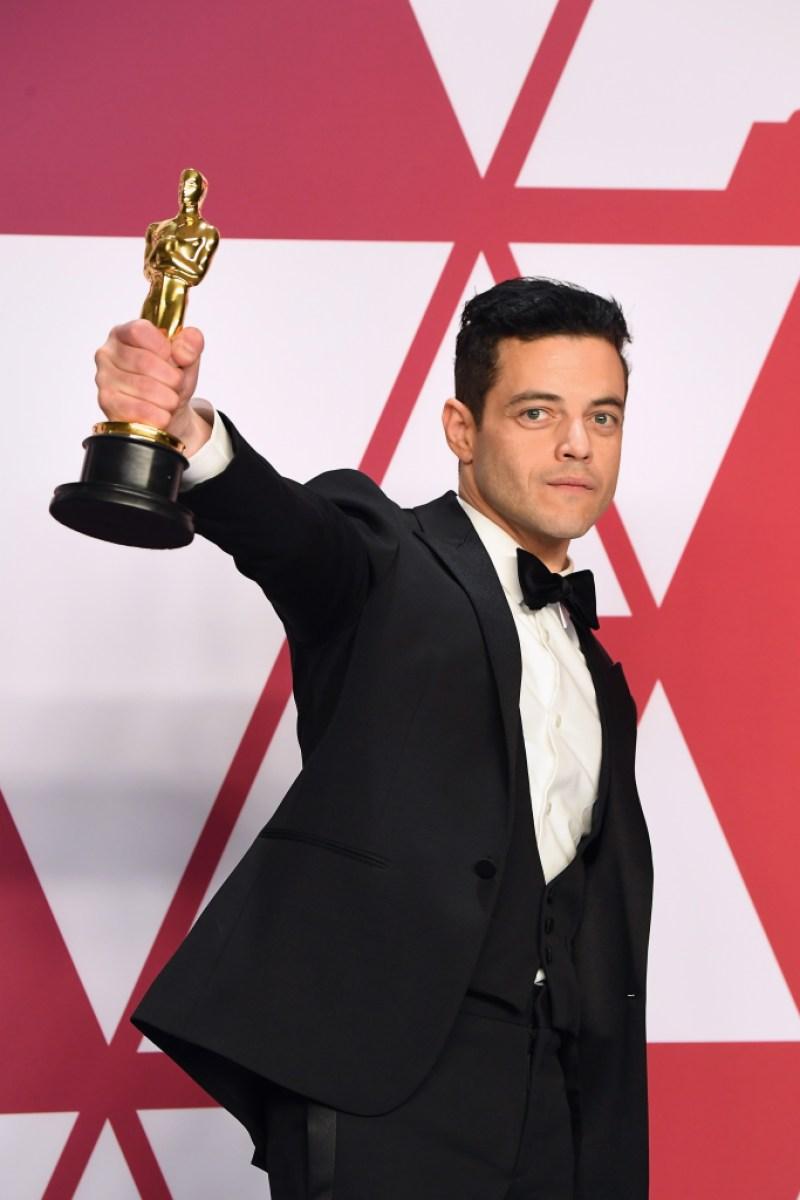 Rami Malek winner Best Actor in a Leading Role award for 'Bohemian Rhapsody''