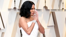 Regina King arrives for the 91st Annual Academy Awards at the Dolby Theatre