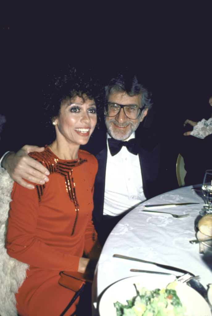 Actress Rita Moreno and husband, Dr. Leonard Gordon.