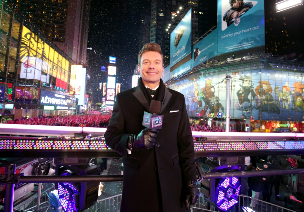 Ryan Seacrest attends Dick Clark's New Year's Rockin' Eve