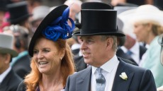 Sarah Ferguson and Prince Andrew, Duke of York attend day 4 of Royal Ascot at Ascot Racecourse