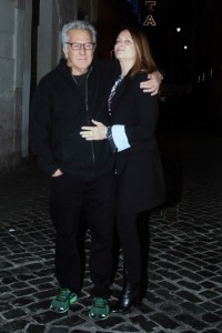 Dustin Hoffman spotted in Rome with wife Lisa Gottsegen