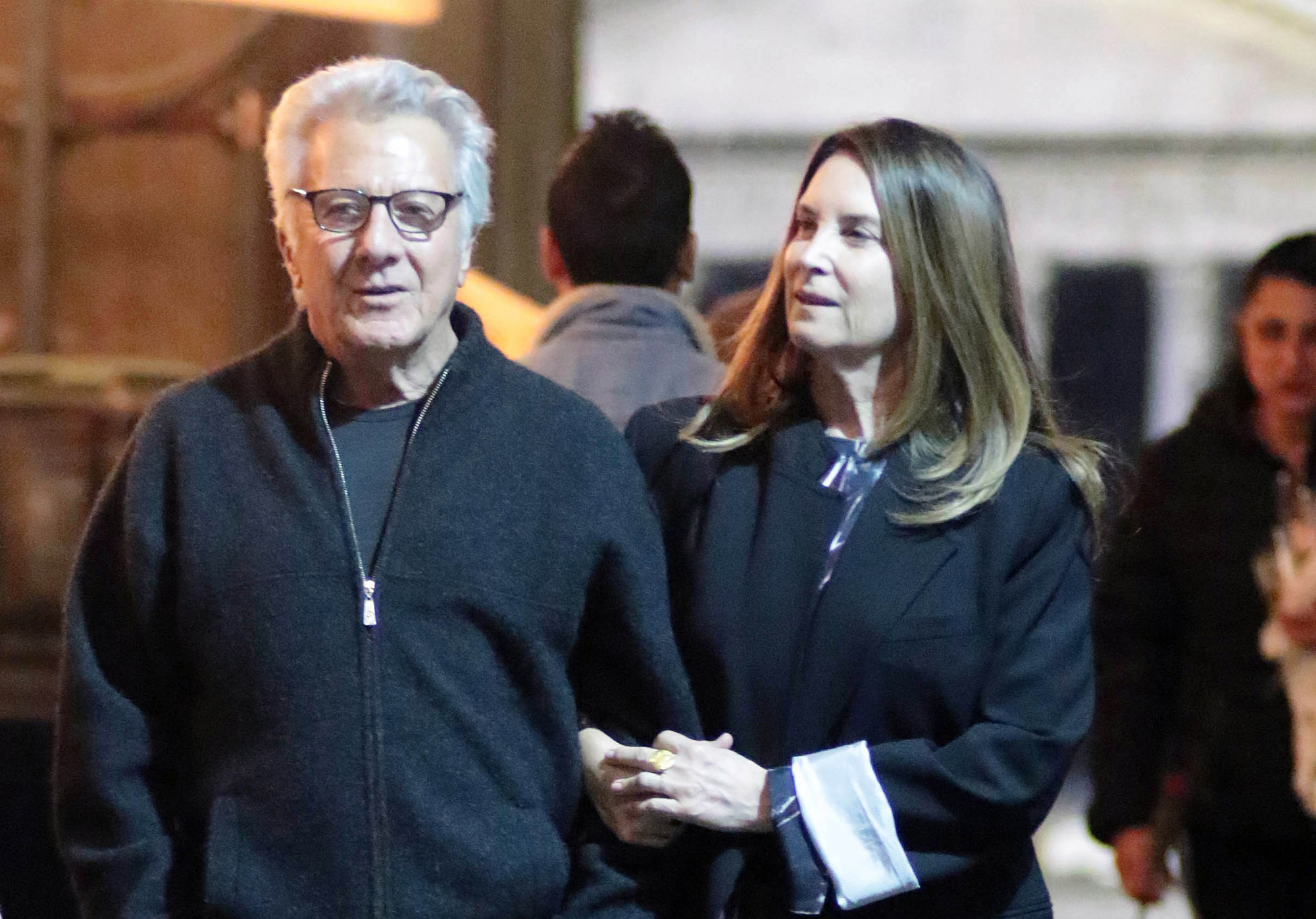 Dustin Hoffman And His Wife Lisa Enjoy A Lovely Date In Rome
