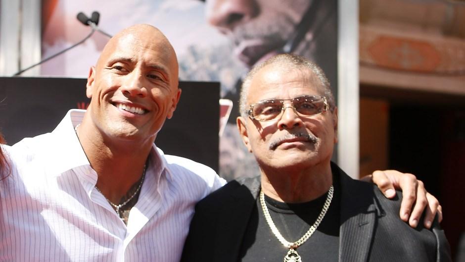 Dwayne the Rock Johnson Rocky Johnson