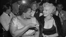 Ella Fitzgerald and Marilyn Monroe