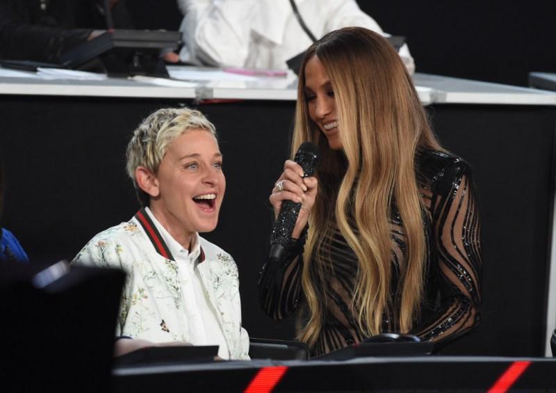 Ellen DeGeneres Jennifer Lopez
