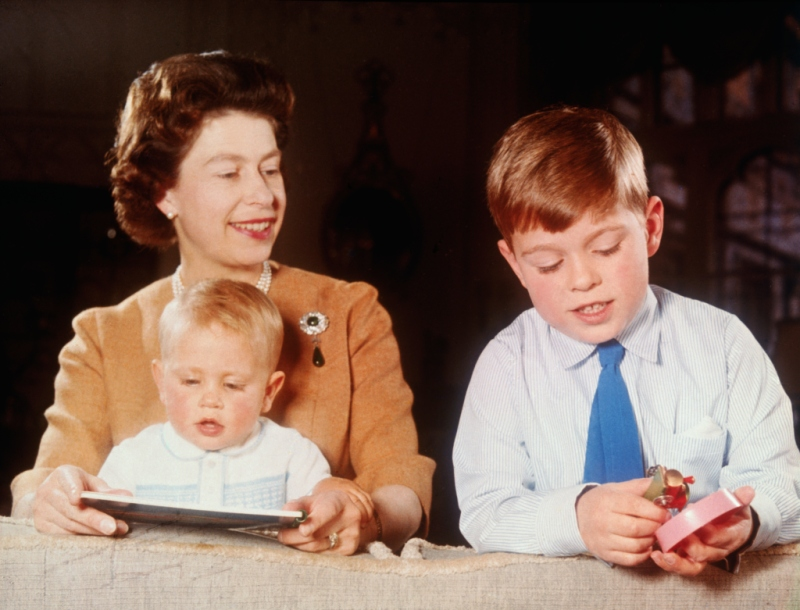 Queen Elizabeth and Sons