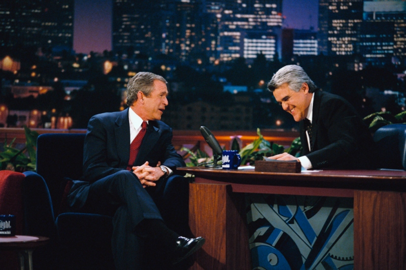 George Bush on The Tonight Show