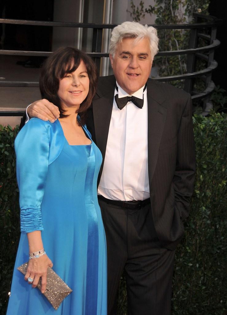 jay leno and wife