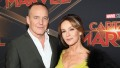 "Actors Clark Gregg and Jennifer Grey attend the Los Angeles World Premiere of Marvel Studios' ""Captain Marvel"""