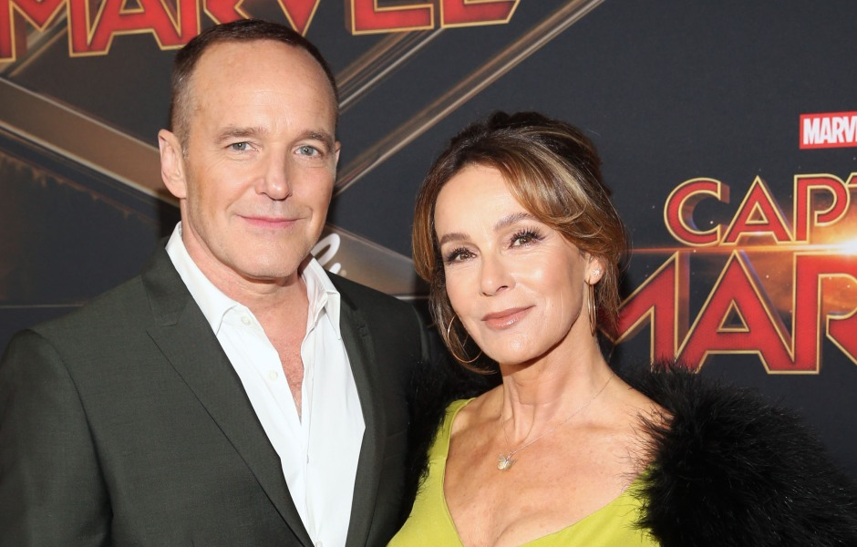 "Actors Clark Gregg and Jennifer Grey attend the Los Angeles World Premiere of Marvel Studios' ""Captain Marvel"""