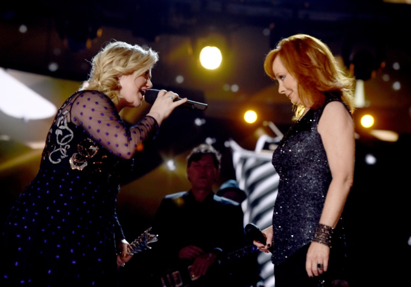 Kelly Clarkson Reba McEntire