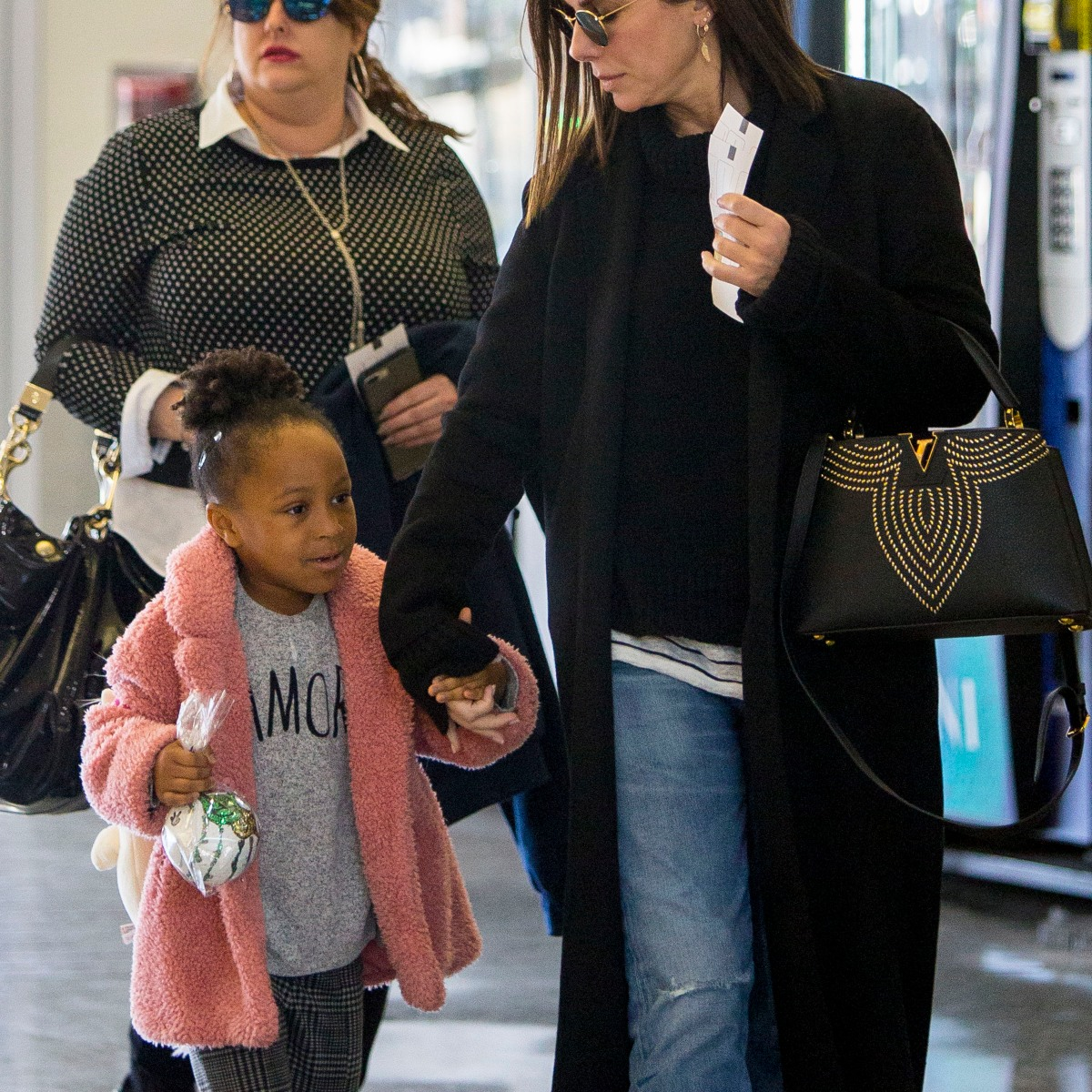 Sandra Bullock Steps Out With Her Rarely Seen Kids in New Orleans