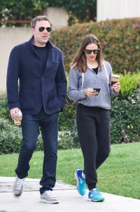 Ben Affleck and Jennifer garner out together in Santa Monica