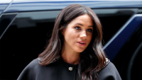 Meghan, Duchess of Sussex visits New Zealand House to sign a book of condolence on behalf of The Royal Family following the recent terror attack which saw at least 50 people killed at a Mosque in Christchurch on March 19, 2019 in London, England.