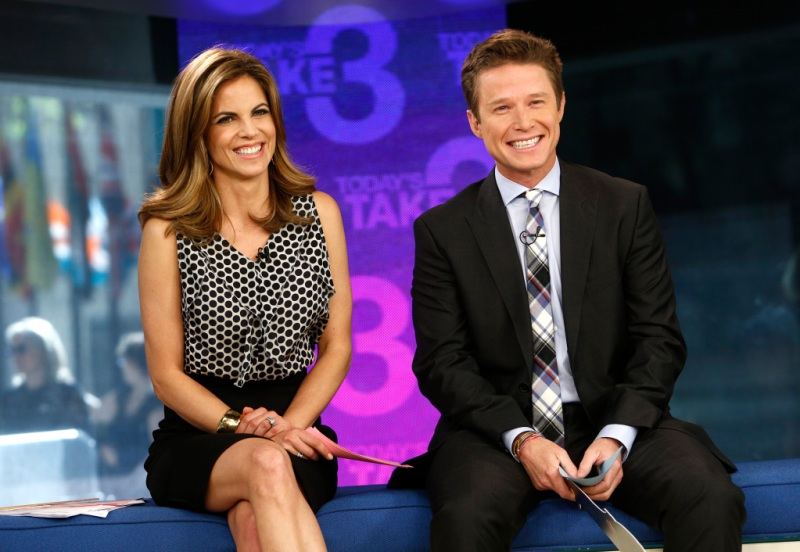 Natalie Morales Billy Bush