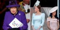 Queen Elizabeth Kate Middleton Meghan Markle