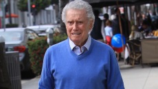 Regis Philbin looks in great shape at the age of 87 as he grabs lunch in Beverly Hills with a friend