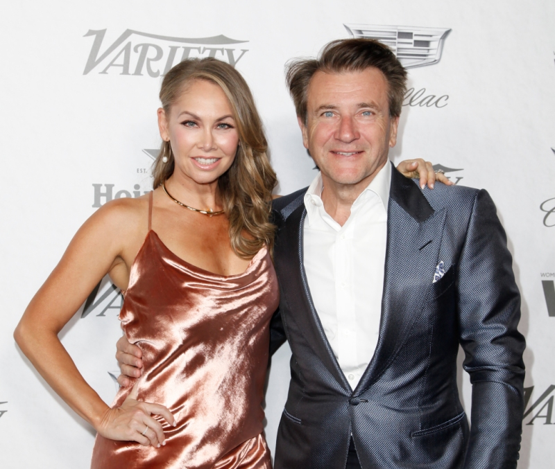 Kym Johnson Robert Herjavec