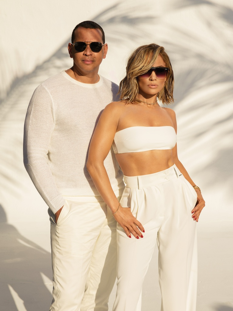 Shady lady! Jennifer Lopez looks sexy as she front first major campaign with new finance Alex Rodriguez