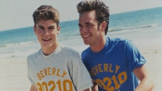 Brian Austin Green and Luke Perry on '90210'