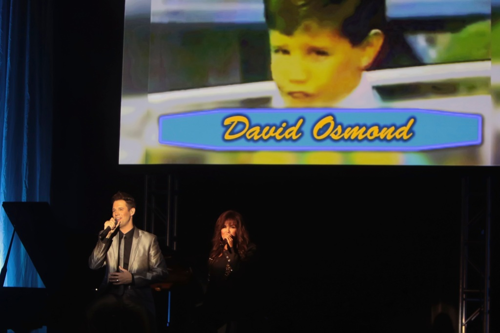 David Osmond and Marie Osmond performs at Borgata Hotel Casino