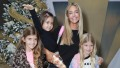 Denise Richards, Eloise Richards, Lola Sheen and Sam Sheen attend the 3rd Annual Santa's Secret Workshop Benefiting LA Family Housing
