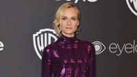 Actress Diane Kruger arrives at the 18th Annual Post-Golden Globes Party hosted by Warner Bros.