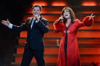 Donny Osmond and Marie Osmond perform at BBT Center