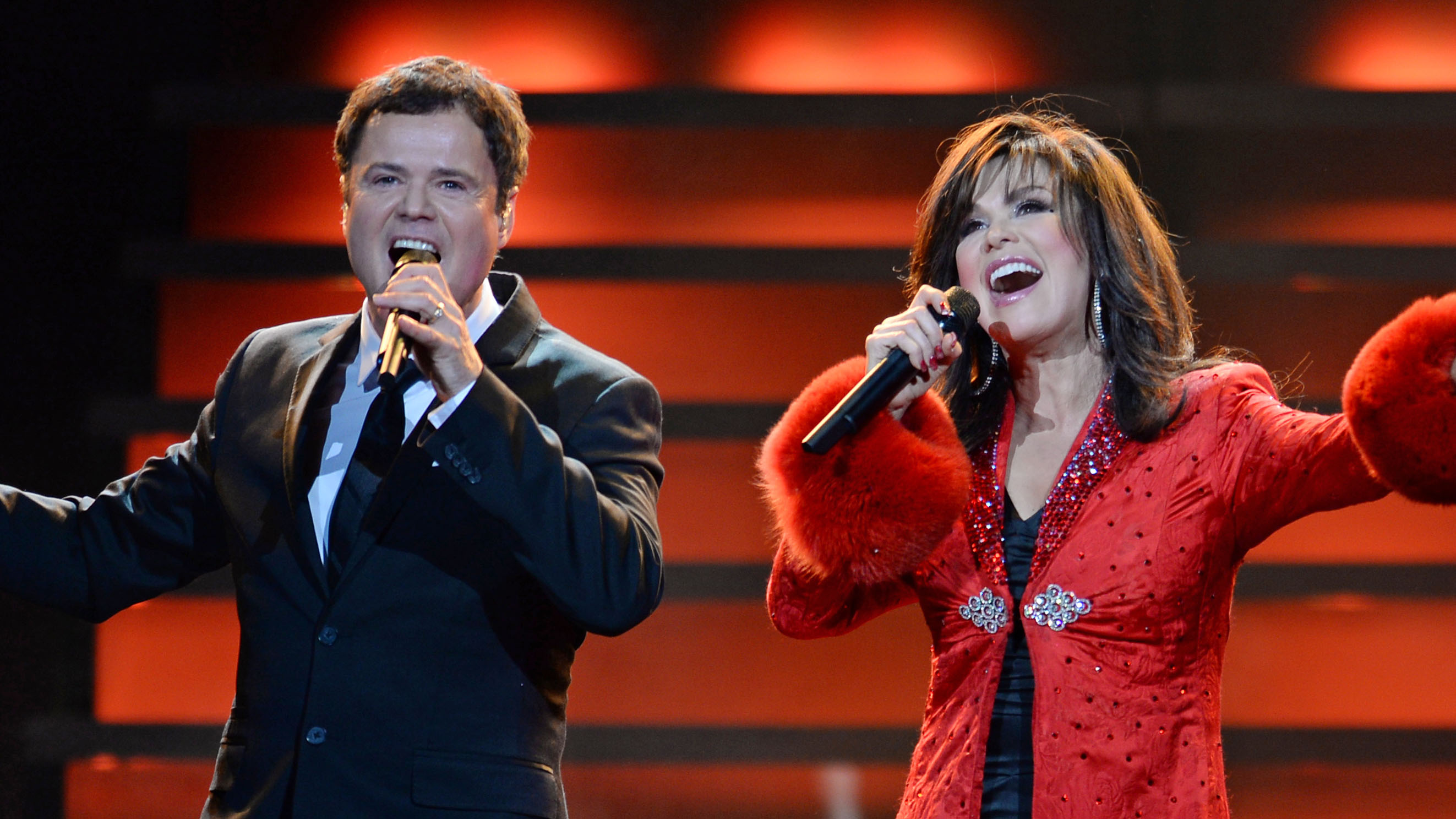 2dab455ee0d Donny and Marie Osmond Announce the End of Their Las Vegas Residency:  'We've Had the Time of Our Lives'