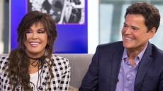 Marie and Donny Osmond visit the Today show.