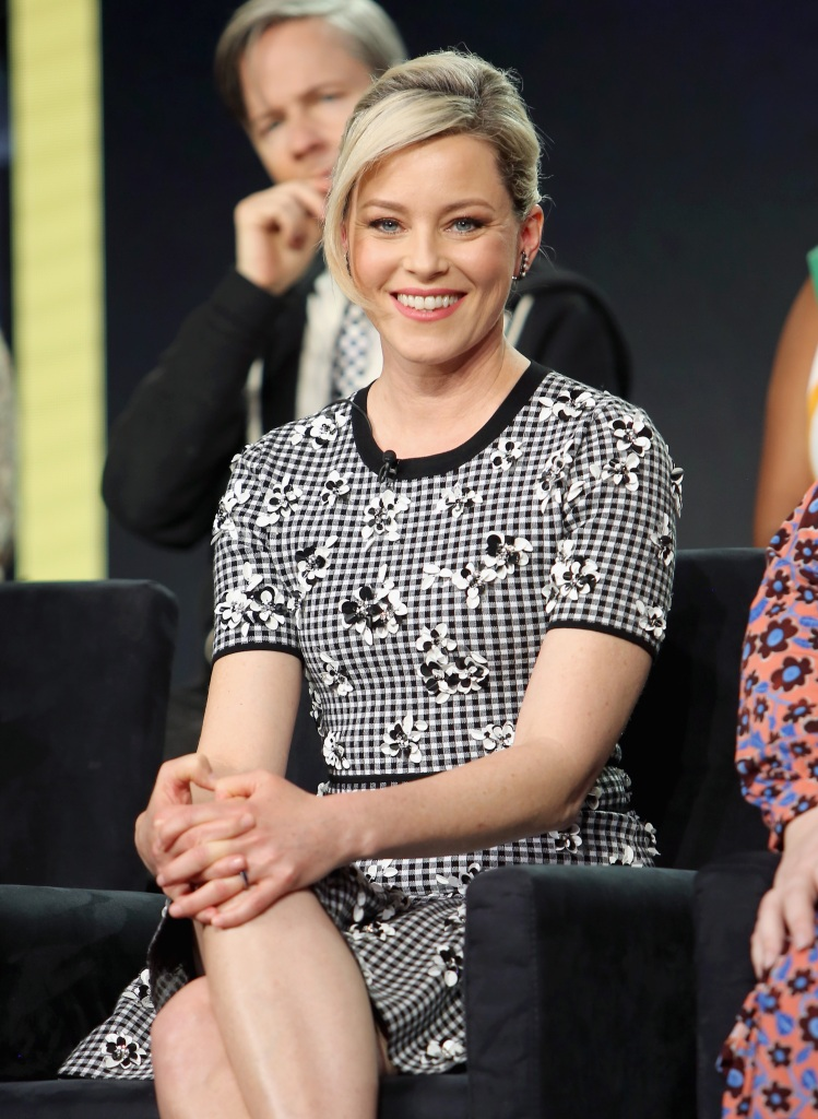 Elizabeth Banks of 'Shrill' speaks onstage during the Hulu Panel during the Winter TCA