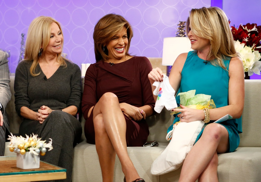"Kathie Lee Gifford, Hoda Kotb and Jenna Bush Hager appear on NBC News' ""Today"" show"
