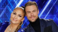 "LD OF DANCE -- ""Qualifiers"" Episode 301 -- Pictured: (l-r) Ne-Yo, Jennifer Lopez, Derek Hough"