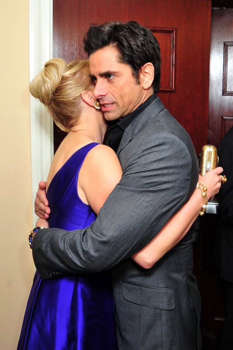 Jodie Sweetin and John Stamos arrive at the 2nd Annual Goodwill Gala