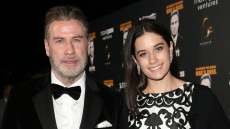 John Travolta and his daughter Ella Bleu Travolta during the party in Honour of John Travolta's receipt of the Inaugural Variety Cinema Icon Award during the 71st annual Cannes Film Festival