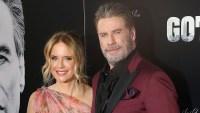 John Travolta and Kelly Preston at the 'Gotti' premiere