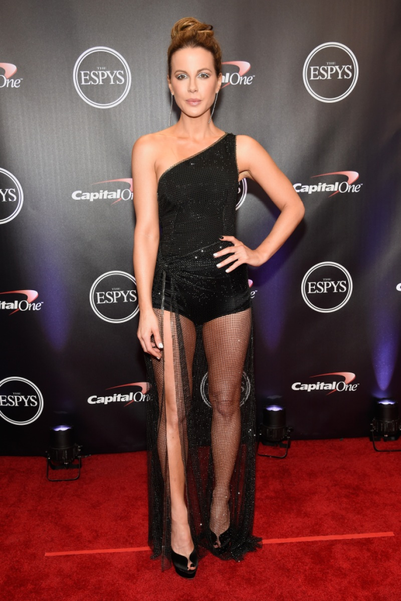 Actress Kate Beckinsale attends The 2018 ESPYS at Microsoft Theater