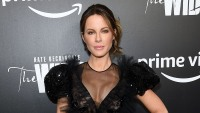 "Kate Beckinsale attends ""The Widow"" New York Premiere at Crosby Street Hotel on March 01, 2019 in New York City."