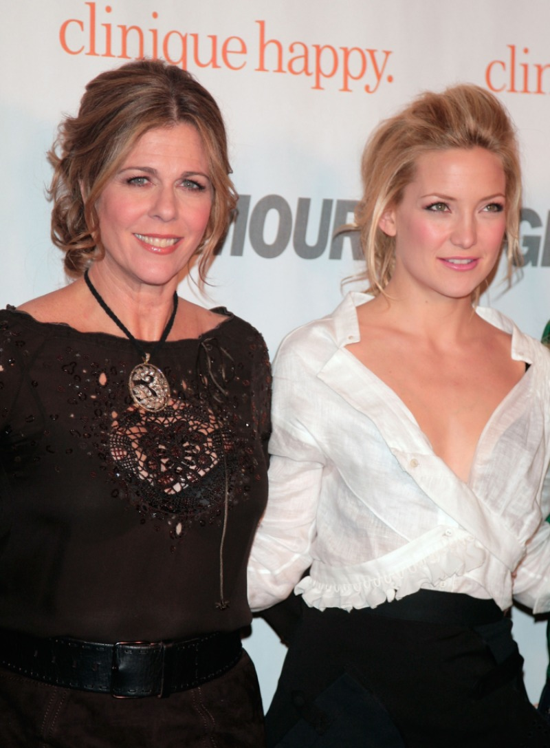 Actresses Rita Wilson and Kate Hudson attend the Glamour Reel Moments party